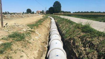 Nuovo collettore fognario presso il Comune di Bondeno (FE)