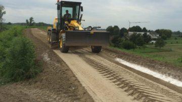 Realizzazione pista di servizio fiume Secchia